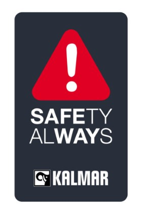 Kalmar Safety Identifier with grey panel (PNG)